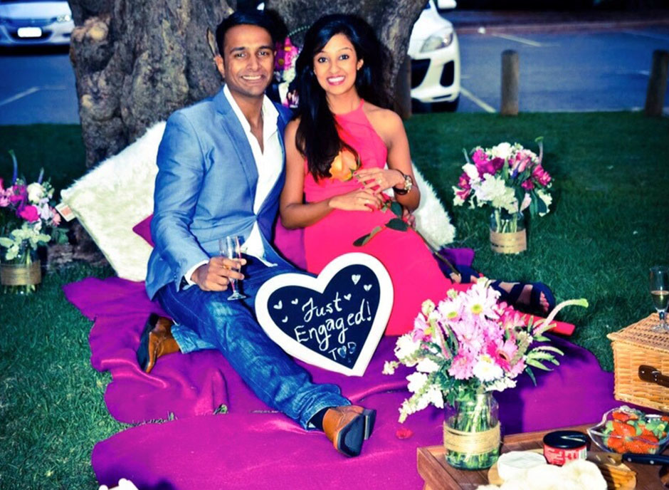 Proposal image of the Lovebirds Weddings & Events Blog