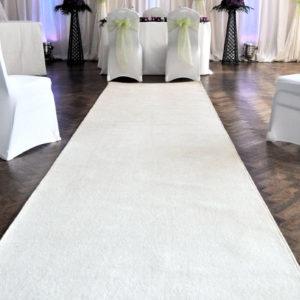 10m Cream Carpet Runner