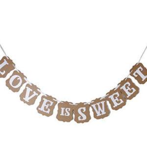 Love Is Sweet Card Bunting