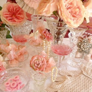 Small Assorted Crystal Vases