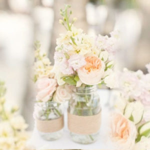 Small Twine Wrapped Jars
