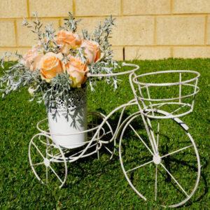 Vintage Bike Flower Stand